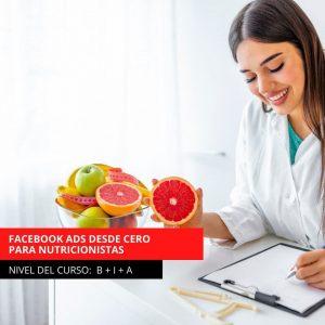 CURSO DE FACEBOOK ADS DESDE CERO PARA NUTRICIONISTAS